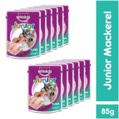 Dimana Beli Whiskas Pouch Kitten Junior Mackerel 85Gr 12 Pcs Whiskas