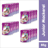 Diskon Whiskas Pouch Kitten Junior Mackerel 85Gr 24 Pcs