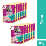 Jual Whiskas Pouch Tuna 85Gr 12 Pcs Indonesia