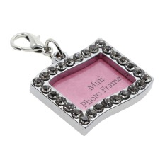 Beli Whyus Stainless Steel Anjing Kucing Pet Id Name Charm Tag Engraved Desainer Crystal BlingᆪᄄShape Rectangleᆪᄅ Lengkap