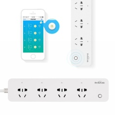 Toko Wifi Power Plug Smart Socket 4 Outlet Ios Android Remote Control Timer Soket Internasional Oem Online