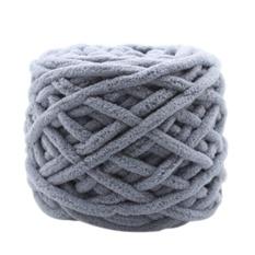 Harga Termurah Winter Thick Chunky Knitting Yarn Balls Roving Diy Scarf Slipper Yarn Color E Intl