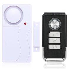 Wireless Remote Control Magnetic Sensor pintu rumah jendela rumah detektor Alarm keamanan - Internasional