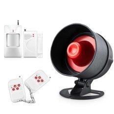 SMS Nirkabel Rumah GSM Alarm Rumah Pencuri Cerdas Keamanan Alarm System-Intl