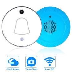 WiFi Nirkabel Mini Smart Bel Pintu Foto Secara Otomatis Cloud dan Penyimpanan Lokal untuk Keamanan Rumah-Internasional