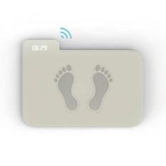 Witwatia Tekanan Sensitif Alarm Clock, Rug/Karpet Alarm Clock Hanya Berhenti Saat Anda Berdiri Di Atasnya-Intl