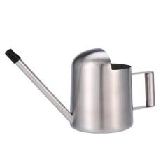 Womdee 300 Ml Anti Karat Mini Penyiraman Alat Berkebun Kecil Panjang Spout Watering Kaleng untuk Ukuran Kecil untuk Meja tanaman Di Kantor atau untuk Anak-anak, perak-Internasional