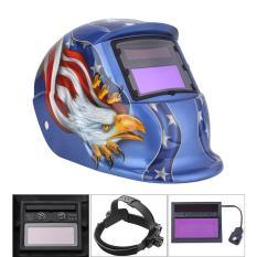 Womdee Terbaik Lincah Tengkorak Kepala Sinar Surya Otomatis Menjadi Gelap Welding Masker Helm Topi Kacamata Alat UV/IR Presevation- internasional