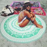 Spesifikasi Pantai Wanita Menutupi Jubah Cetak Tikar Bulat Hippie Musim Panas Pakaian Renang Baju Renang Hijau Dan Harga
