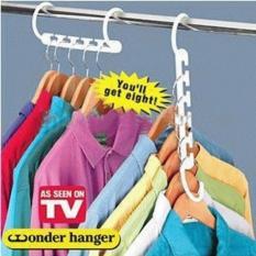 WONDER HANGER As Seen On Tv ( 1 BOX ISI 8PCS  HARGA PER BOX 16.000 )
