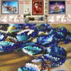 Kekuatan Luar Biasa Baru Fashion DIY Diamond Lukisan Cross Stitch Berlian Imitasi Disisipkan 5D Bordir Lukisan Rumah Hot Sale 9 Gaya- Multicolor-gaya 9-30X40 Cm-Intl