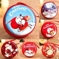 Kekuatan Luar Biasa Terbaru Seksi Produk Natal Dekorasi Hadiah Bola Hari Natal Anak-anak Koin Dompet Rusa Besar Lansia Anak-anak Hadiah Hadiah Kreatif -Merah-16-Internasional
