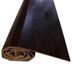 Wood Carpet Oak Veneer 120 x 200 (Warna Coklat Tua Hitam 03), Karpet Plywood Lapis Kayu Oak, Karpet Kayu Gulung, Lampit Kayu, Parket Kayu Lantai, Flooring Kayu, Keramik Kayu, Karpet Modern, Karpet Anti Slip, Karpet Anti Alergi, Vinyl Kayu Lantai