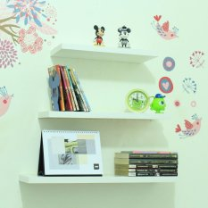 Woodiest WLP40,50,60 1 set Rak Dinding Minimalis - Floating Shelves