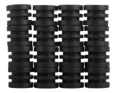 Woowof Anticollision 5/8 Inch Foosball Batang Karet Bumper Untuk Foosball Table (hitam)-Intl By Woowfoff.