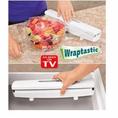 Spesifikasi Wraptastic Alat Pembungkus Makanan Plastik Dispenser Film Cutter Unik Dan Harga