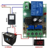 Beli Xh M601 Battery Charging Control Board 12 V Cerdas Charger Panel Kontrol Daya Pengisian Otomatis Power