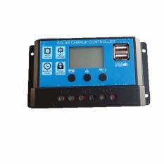 Jual Cepat Y Solar 5 Pcs Pwm Solar Charge Controller 30A Regulator 12 V 24 V Auto Layar Besar Dengan Dual Usb 5 V Untuk Rumah Sistem Pv Lighting Intl