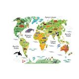 Beli Ybc Warna Warni Peta Dunia Stiker Dinding Seni Dekorasi Dinding Kamar Tidur Dekorasi Ruang Tamu Oem