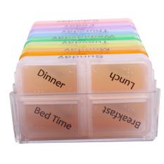 Tips Beli Ybc Penyimpanan Obat Pil Mingguan 7 Hari Kotak Kontainer Penyelenggara Case Tablet Penyortir Yang Bagus