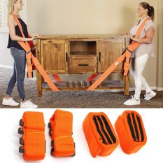 Beli Yika 1 Pair Lifting And Moving Straps Easily Carry Furniture Magic Hand Strap Shoulder Strap Intl Online Murah