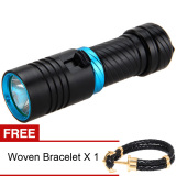 Jual Yika Cree T6 Led Diving 100M Flashlight Black Buy 1 Get Freebie Yika Grosir