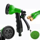 Harga Yika Fleksibel 100Ft Memperluas Garden Water Pocket Hose Spray Nozzle Mobil Intl New