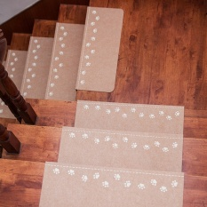 Yika Luminous Visual Stair Carpet Pad Self-Adhesive Tangga Tikar Antislip Tapak-Intl