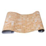 Toko Yingwei Mozaik Dapur Aluminium Foil And Label Berperekat Anti Minyak Kertas Stiker Dinding Oranye Online