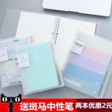Toko Yoofun B5 A5 Kecil Segar Dapat Mengubah Buku Harian Lepas Yang Bisa Kredit