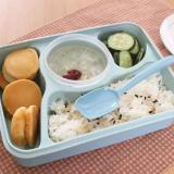 Toko Yooyee Lunch Box 4 Sekat Bento 392 Kotak Bekal Makan Tempat Sup Biru Lengkap