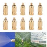 Cuci Gudang Yosoo 10 Pcs Kuningan Berulir Nosel Kabut Sprinkler Intl