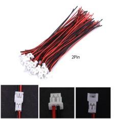Harga Termurah Yosoo 20 Sets Pack Micro Jst 1 25 Mm Pria Wanita Konektor Plug Dengan Kabel 2Pin Intl