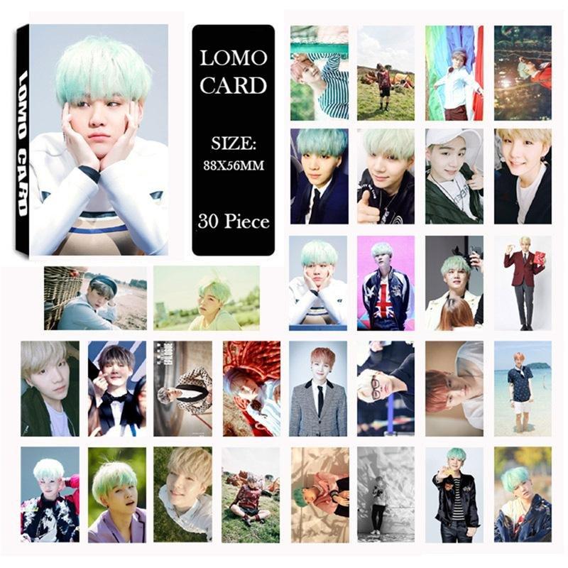 Pencarian Termurah BTS Bangtan Boys Young Forever Pt.1 Suga Album Foto LOMO Kartu Self