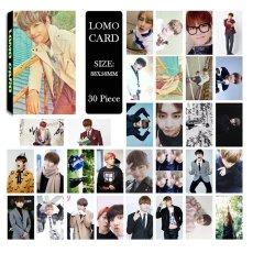 BTS Bangtan Boys Young Forever Pt.1 V Album Foto LOMO Kartu Self Made Kertas