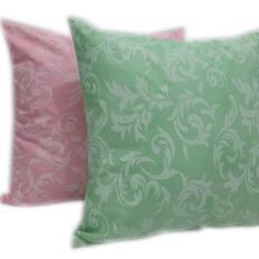 Spesifikasi Yourin S Sarung Bantal Sofa Mix Green Pink Terbaru