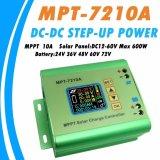 Y H Mpt 7210A Mppt 10A Solar Regulator Charge Controller Untuk 24 V 36 V 48 V 60 V 72 V Baterai Dc12 60V Max 600 W Solar Panel Intl Original