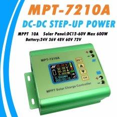 Iklan Y H Mpt 7210A Mppt 10A Solar Regulator Charge Controller Untuk 24 V 36 V 48 V 60 V 72 V Baterai Dc12 60V Max 600 W Solar Panel Intl