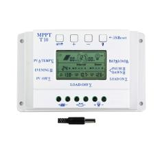Toko Y H 3 Pcs T10 Pwm 10A Solar Charge Controller 12 V 24 V Auto Lcd Display And Dual Timer For Solar Sistem Pencahayaan Dekat Sini