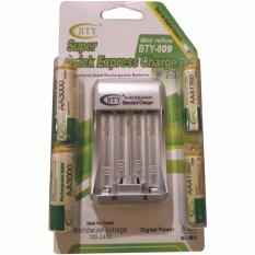 Diskon Bty Charger And Rechargeable Battery Aaa Aa 4 Pcs Original Zappie Di Indonesia