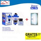 Jual Zernii Filter Air Paket 1F1C1K Zernii Filter Carbon Kapas 50Gr Zernii