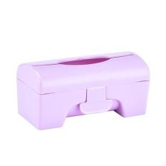 ZL KCmall Plastik Colorful Dapur Kamar Mandi Dipasang Di Dinding Sampah BagStorage Box Container Holder (Pink) & Nbsp; -Intl