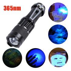 Zoomable Led Cahaya Obor Senter Sinar Uv 365Nm Ultra Violet Blacklight Aa Intl Not Specified Diskon