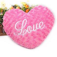 Harga Zuncle Cinta Hati Berbentuk Bantal Naik Merah Terbaik