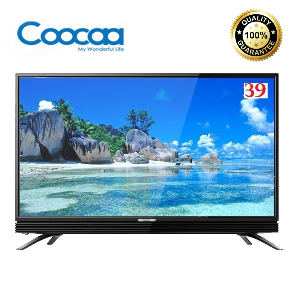 COOCAA 39W3 - LED TV 39in USB MOVIE - FREE PACKING KAYU SE INDONESIA