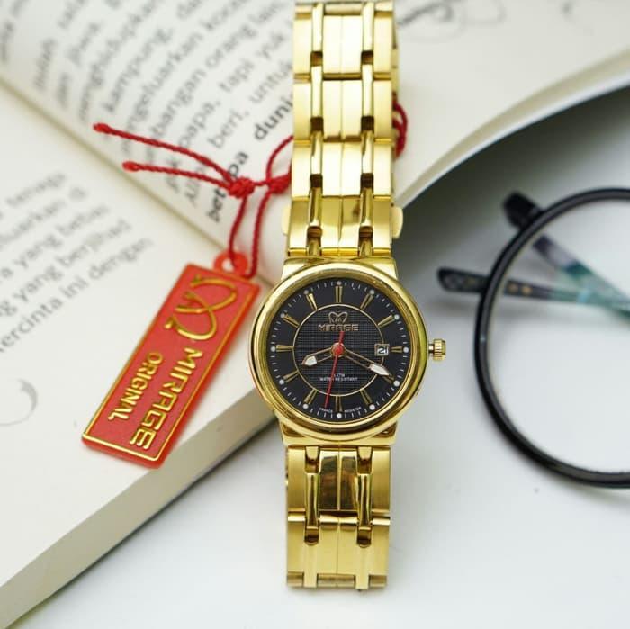Swiss Army Sa6503l Jam Tangan Wanita Kulit Coklat Silver Dial Putih Source · Jam tangan Wanita mirage original GD2200 Gold Plat Black