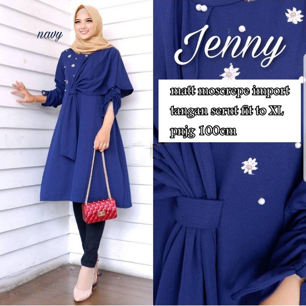 Rp 90.000. Muslim Hijab Store Baju Atasan Muslim Wanita Jenny ...