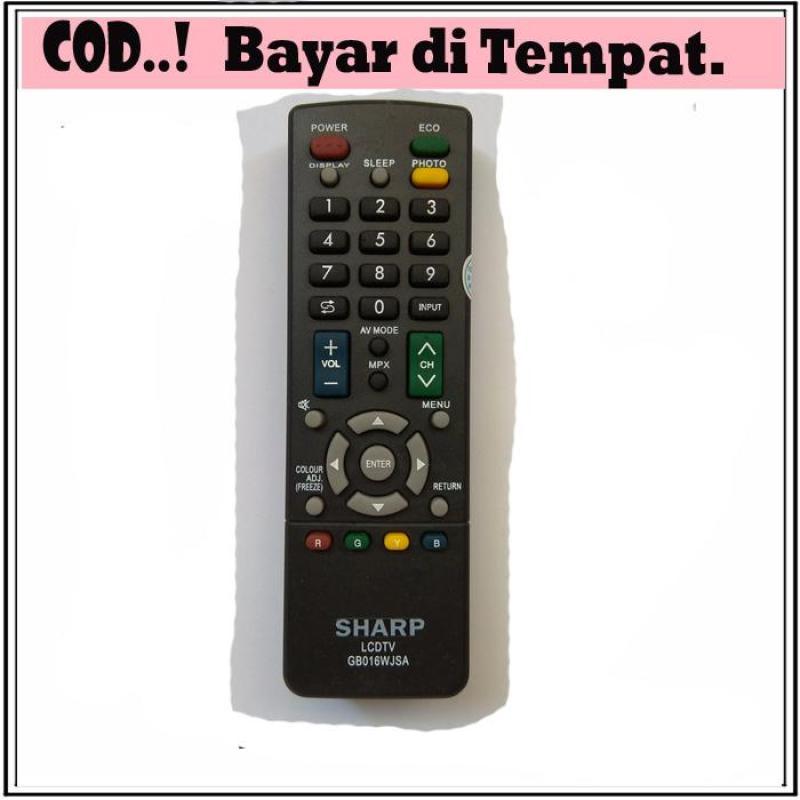 REMOT/REMOTE TV SHARP LCD/LED GB016WJSA PASTI KONEK