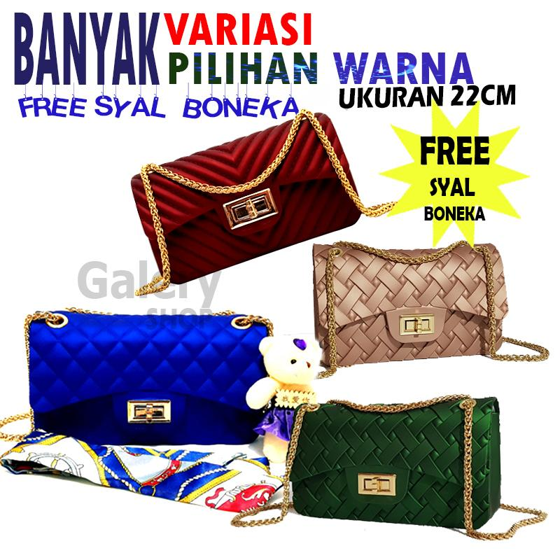 galery shop tas jelly uk besar jely clasik and chevron bag free SYAL+BONEKA  bahan 421120c2b9