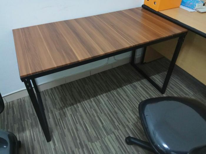 Meja Kantor ,kerja ,kafe Dlln 100x60 By Meifa Store.